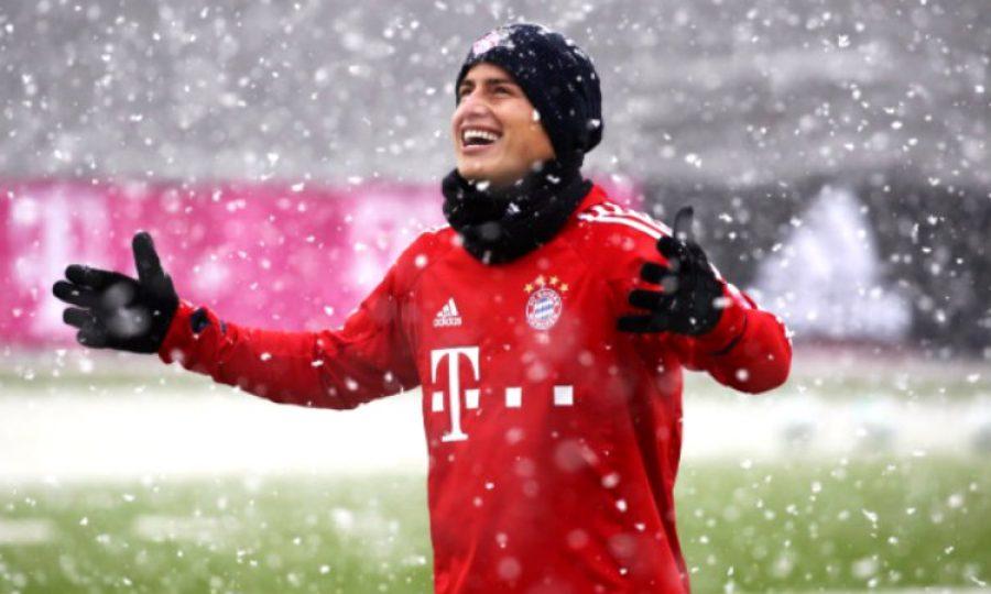 La noticia que tiene feliz a James y que no se trata de nada futbolístico