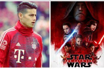 James es catalogado como un Jedi en el Bayern