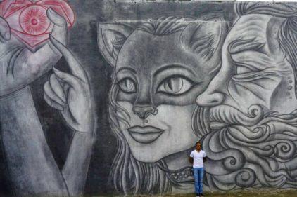 En Colombia está el mural en lápiz más grande del mundo