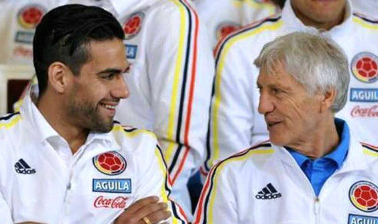 Pékerman elogia a Falcao en el sorteo al Mundial