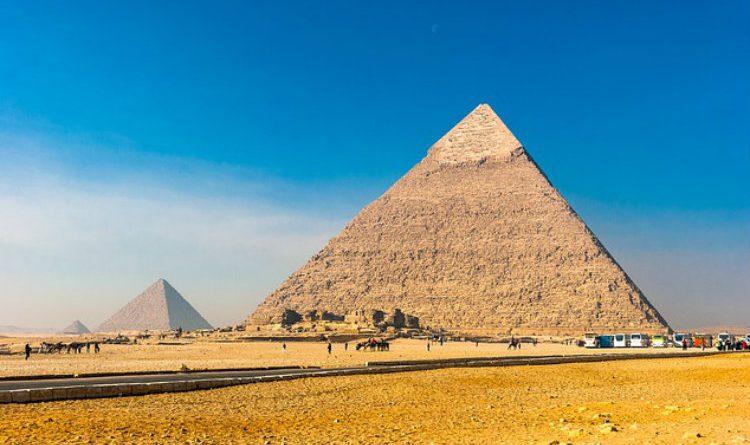 El sorprendente hallazgo que hicieron en las pirámides de Egipto