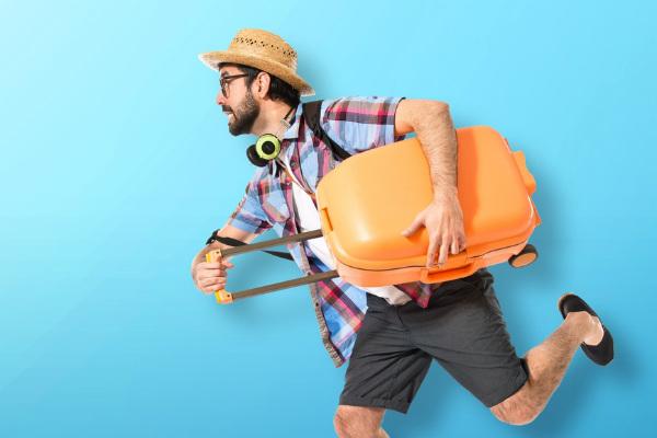 Alista una maleta para viajar
