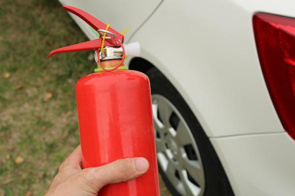 Extintor reglamentario