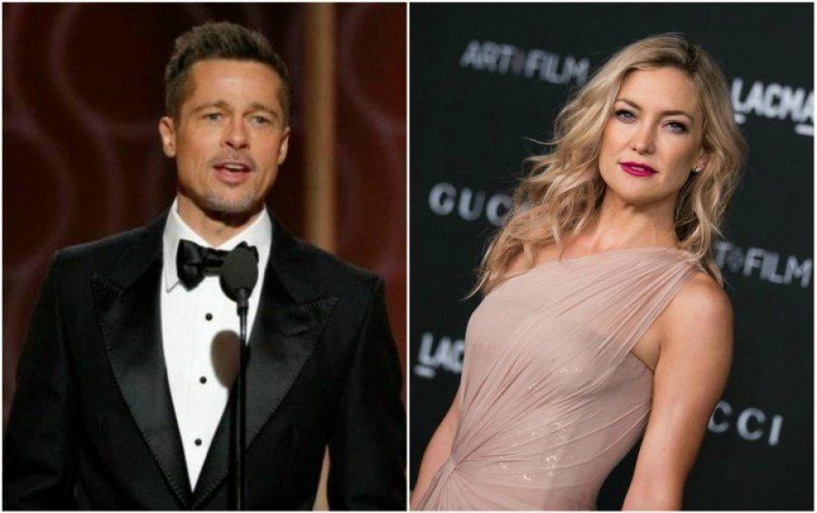 Kate Hudson, la actriz que podría ser la nueva pareja de Brad Pitt