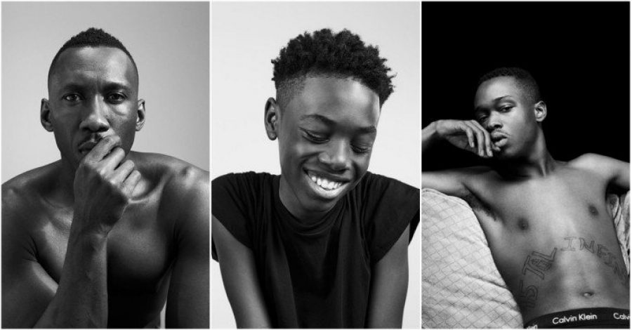 Los actores de Moonlight se vuelven modelos para la campaña de Calvin Klein