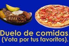¿Cuál de estas comidas prefieres? Vota por tus favoritas