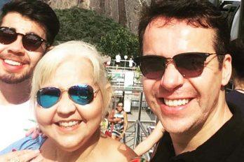La gordita Fabiola y 'Polilla' demuestran su amor desde Río de Janeiro