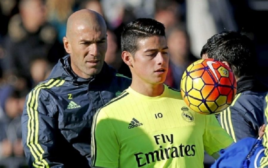 James señala al culpable del problema en el Real Madrid