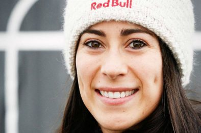 Mariana Pajón se animó a practicar un nuevo deporte. ¡Mira cómo le fue!