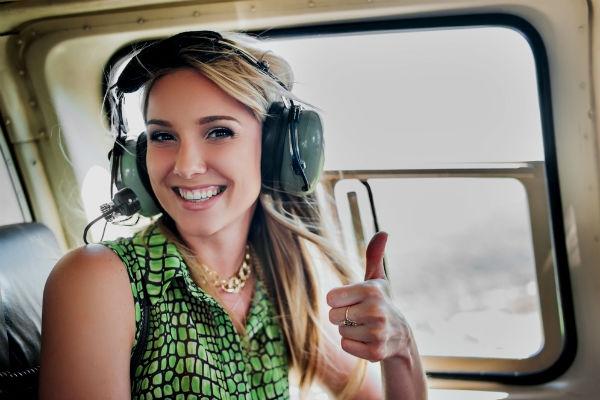 Helicóptero, el vuelo más seguro