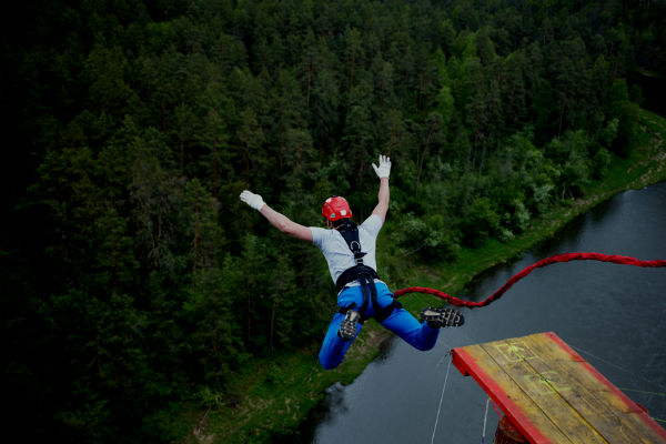 Bungee Jumping, la sensación de volar con libertad