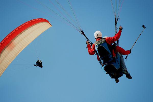 Parapente, permite volar desde finales del siglo XX