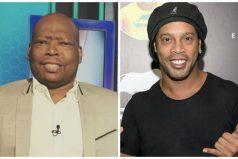 El curioso mensaje del 'Tino' Asprilla a Ronaldinho en su despedida