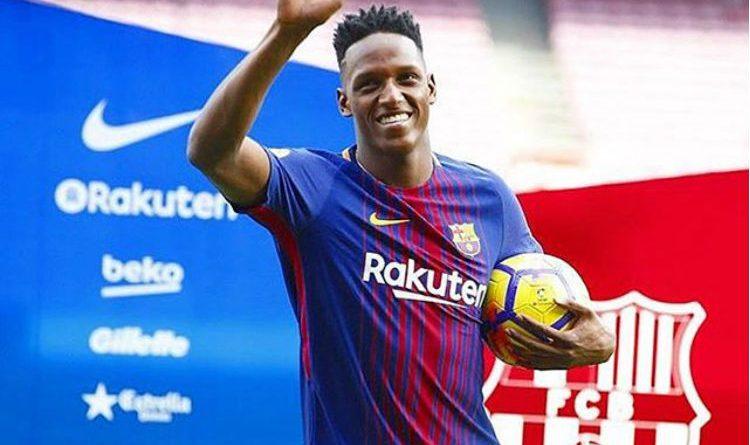 El día más importante en la vida Yerri Mina. No fue en el que llegó al Barcelona, ¡hay otro!