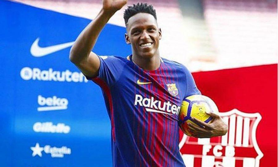 El día más importante en la vida Yerry Mina. No fue en el que llegó al Barcelona, ¡hay otro!