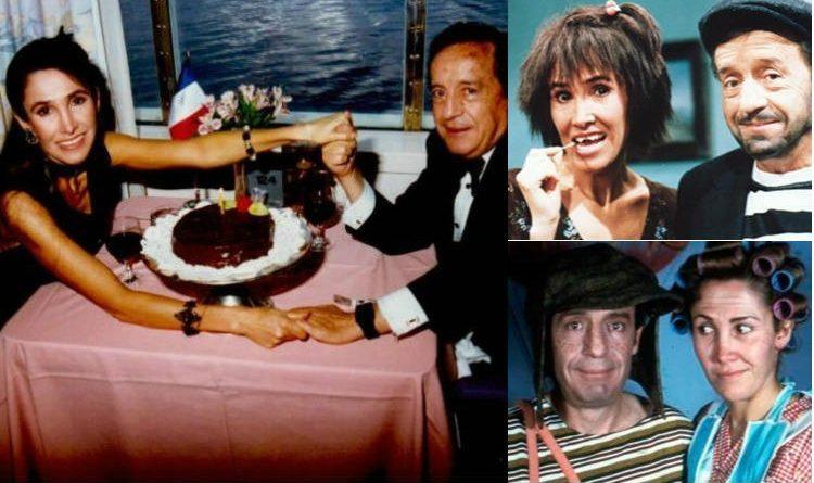 Así fue el amor entre 'Chespirito' y Florinda Meza
