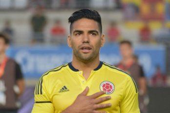 Falcao celebró con un estilo muy colombiano, ¡humildad pura!