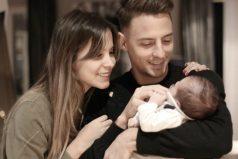 Santiago Arias y Karin Jiménez, enamorados de su hijo Thiago