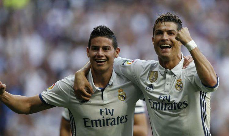 Cristiano Ronaldo está de cumpleaños y así lo felicitó James Rodríguez