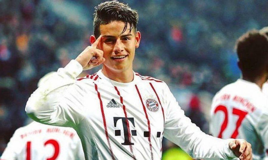 James hizo el mejor gol de la Bundesliga en enero. ¡Un golazo!