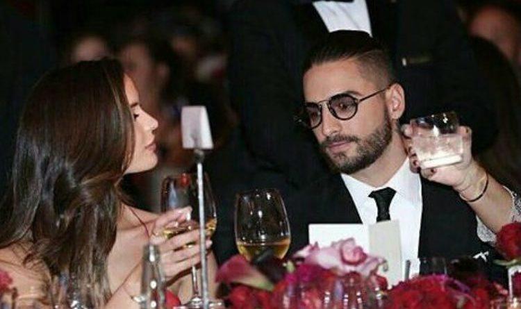 El sello de amor entre Maluma y su novia.