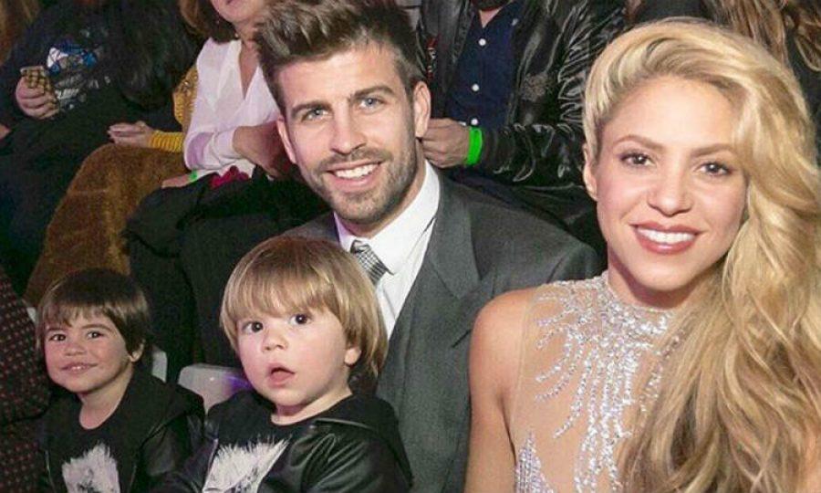 Piqué está en el ojo del huracán por defender a Shakira y a sus hijos