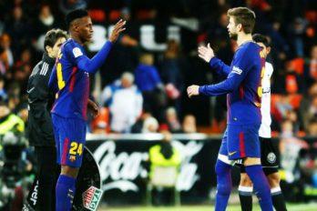 A Yerry Mina, todos lo quieren en el Barcelona. ¡Qué gran momento está viviendo!