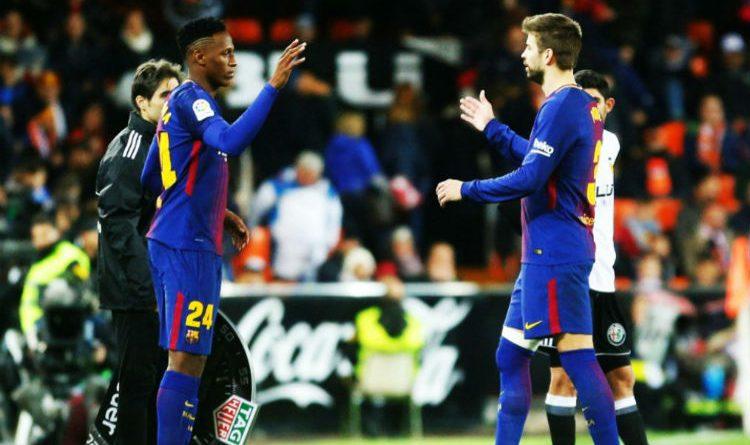 A Yerri Mina, todos lo quieren en el Barcelona. ¡Qué gran momento está viviendo!