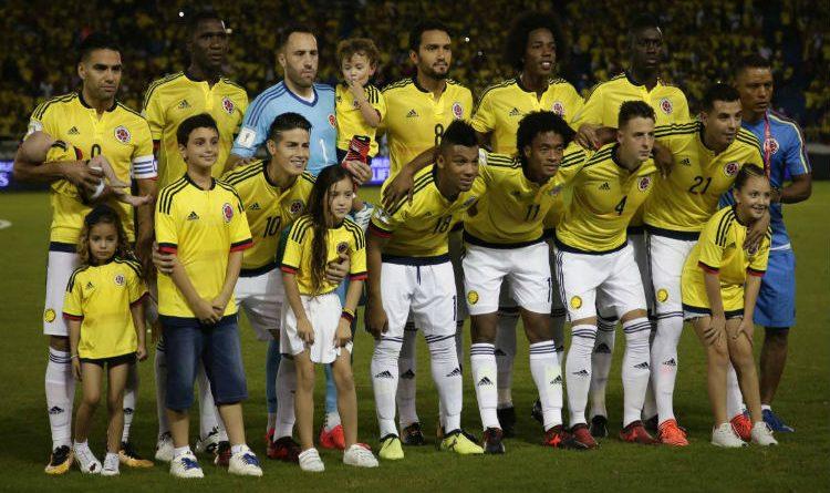 Partido amistoso de Colombia