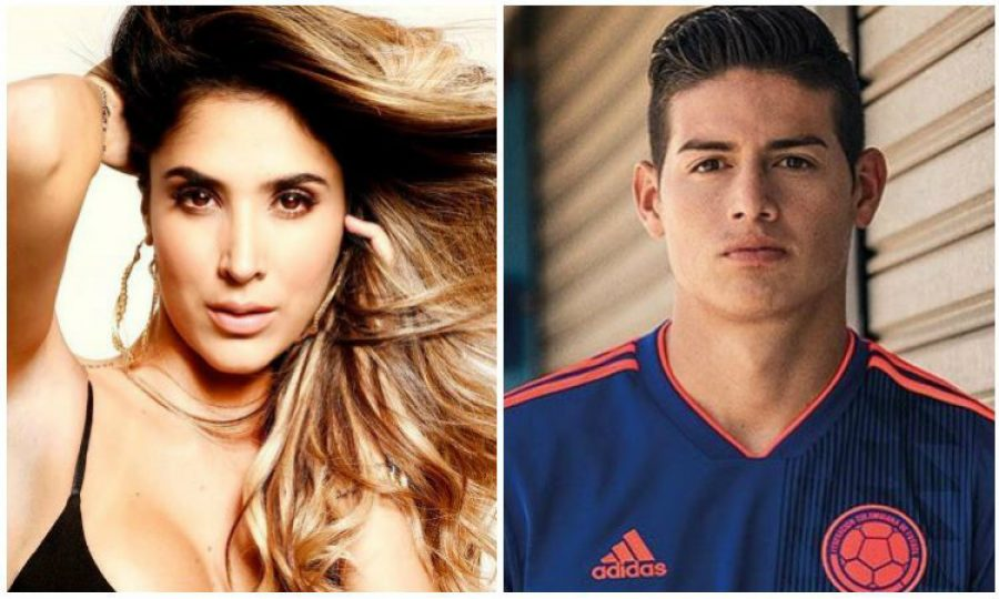 Daniela Ospina le sigue los pasos a James Rodríguez