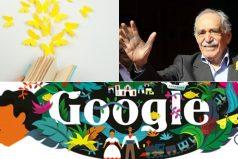 El doodle de Google rinde homenaje a Gabriel García Márquez
