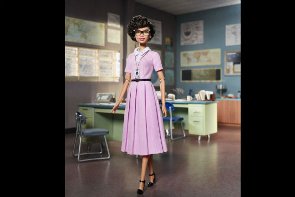 katherine Johnson-barbie