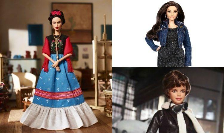 """Barbie lanza su línea """"Sheroes"""" rindiendo homenaje a grandes mujeres del mundo entero"""