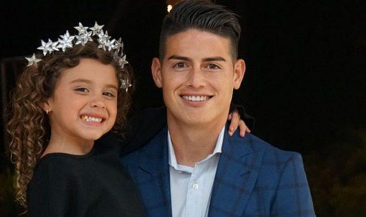 La hija de James Rodríguez enterneció las redes sociales con su forma de admirar los logros de su papá.