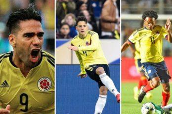Esposa de famoso jugador colombiano le sigue los pasos. ¡Tiene talento!