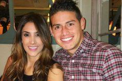 La particular manera en la que Daniela Ospina apoya James