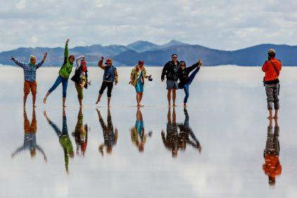 Conoce el Salar de Uyuni: el mayor desierto de sal continuo y alto del mundo