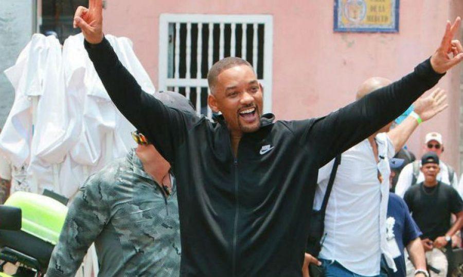 Will Smith le dejará un hermoso regalo a Colombia