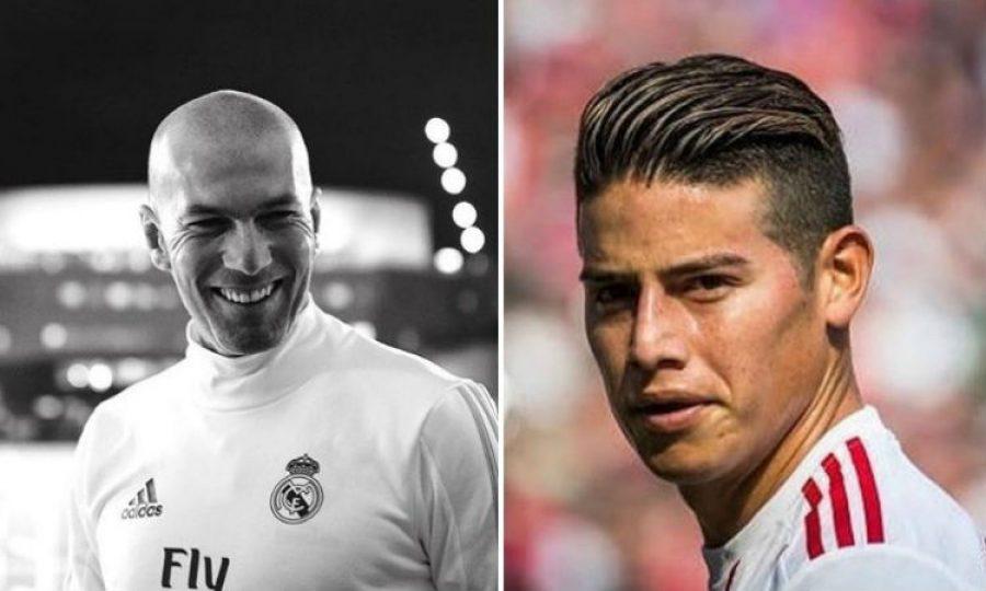 Zinedine Zidane se refirió al nivel de James. ¡No lo creerás!