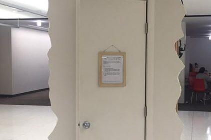 Universidad instaló armarios para que los estudiantes lloren ¡De no creer!