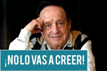 El programa que no le funcionó a Roberto Gómez Bolaños (Chespirito), pero que dio fuerza a uno de sus personajes