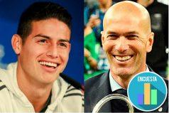 ¿Con la salida de Zidane se abre la puerta para el regreso de James al Madrid? ¿Qué opinas?
