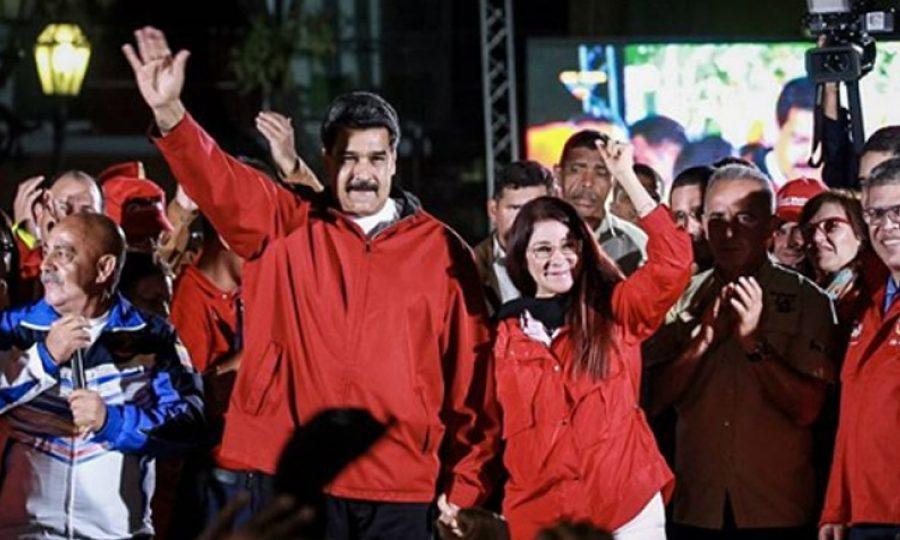 El mundo protesta contra la reelección de Nicolás Maduro