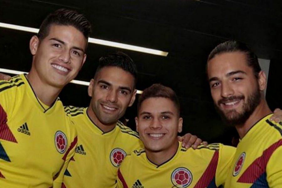 Maluma fue el invitado especial en el partido de despedida de la Selección Colombia en Bogotá
