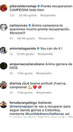 Esto le dijo Carlos Vives y 'El Pibe' Valderrama a Mariana Pajón
