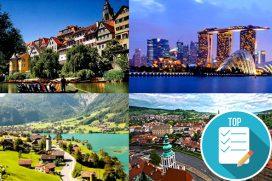 Conoce los 10 mejores países para vivir según los expatriados