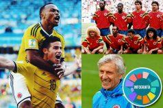 10 números de la Selección Colombia en los Mundiales. ¡Pasión Tricolor!