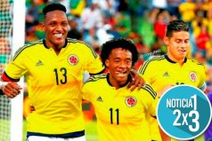 El baile de Yerry Mina y Juan Guillermo Cuadrado en la goleada de Colombia ante Polonia