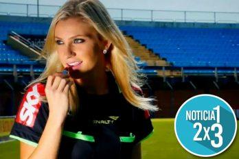 Por primera vez en la historia una mujer será árbitra en el Mundial de Rusia