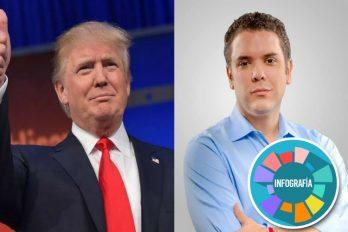 El gobierno de Donald Trump felicita a Iván Duque por la victoria en las elecciones presidenciales